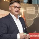 Udo Carl beim Impulsvortrag auf dem Wirtschafts Forum