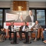 Diskussionsrunde auf dem Wirtschaftsforum 2016
